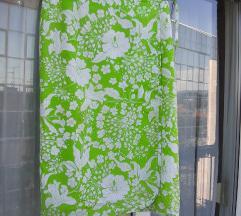 Escada zelena bijela suknja na preklop