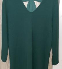 Mango zelena haljina dugih rukava