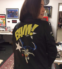 Wonder Woman kožna jakna Zara