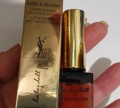 YSL Kiss and Blush