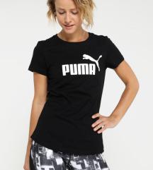 Puma crna majica kratkih rukava