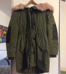 Topla parka zimska jakna