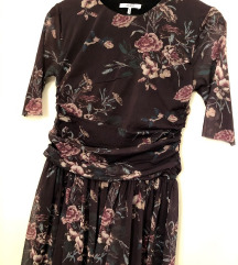 GANNI original floral haljina S M