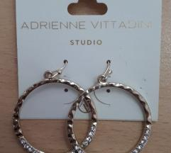Adrienne Vittadini Zlatne Hoops