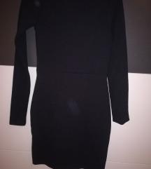 Crna uska pencil haljina