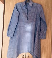 Zara tunika košulja haljina