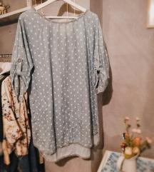 Točkasta haljina-tunika