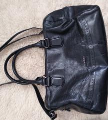 Picard crna  kožna torba