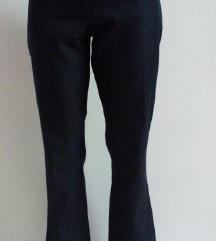 Klasične tamne hlače 38 NOVO