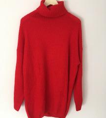 Novi crveni džemper/haljina