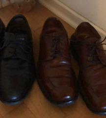 Bata muške Cipele crne i smeđe koža