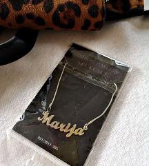 ogrlica sa imenom Marija
