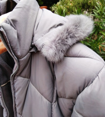 Siva zimska jakna, nova
