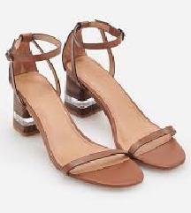 Reserved sandale prava koza