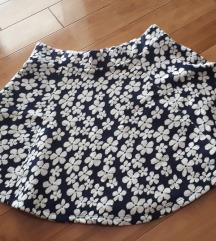 Suknja sa cvjeticima