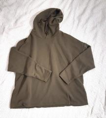 🌞 Pull&bear hoodie M zelena