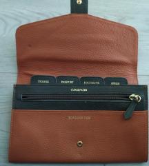 Kožna torbica/novčanik za putovanje 😉😉