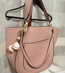 Nova Carpisa torba prljavo ružičasta