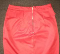 Crvena HM suknja NOVA