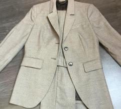 Benetton sivo odijelo