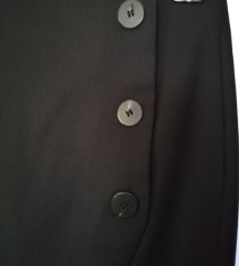 Nova Mango crna pencil suknja