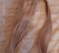 Plavi rep od prave kose SAMO 100 KN
