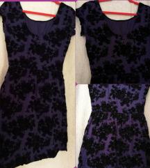 Ljubičasta haljina NOVO