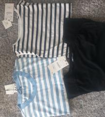 3 majice vel XL Zara NOVO