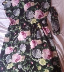 Cvijetna haljina 40
