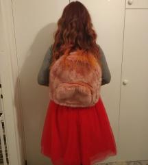 Novi krzneni ruksak