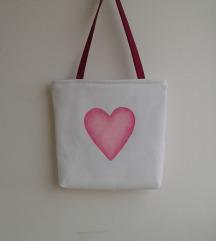 Oslikana torba ručni rad 🌺 8̶0̶ ̶k̶n̶