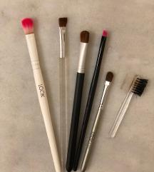 8 četkica za šminkanje