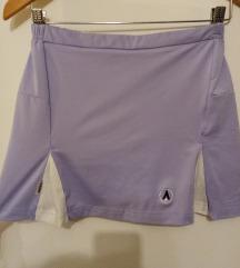 Suknja, (hlače ispod) za vježbanje