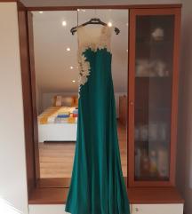Svečana haljina, zelena boja