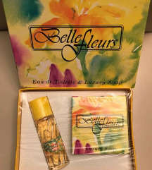 SET Belle Fleurs Eau de Toilette & Luxury Soap