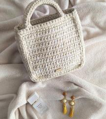 Heklana torba + naušnice*