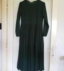 Midi smaragdna haljina S/M