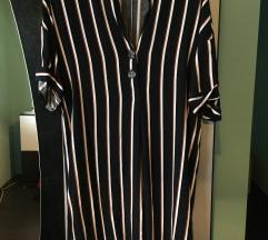 Primark prugasta kosulja haljina