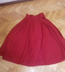 prekrasna suknja vel s