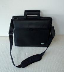 SAMSONITE torba za notebook od prave kože