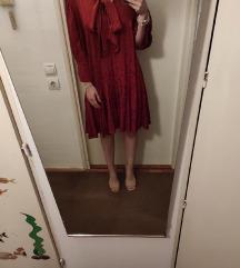 Crveno/narančasta haljina