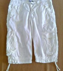 Bijele 3/4 hlače