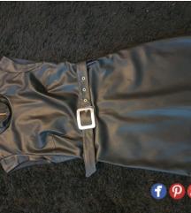 Zara haljina - umjetna koza