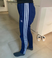 Original  SST Adidas trenirka donji dio, modra