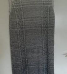 Benetton pletena haljina- ombre!