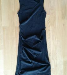 Crna uska svečana haljina 34