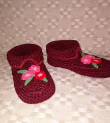 Pletene papuce br. 36-37