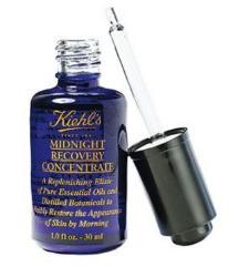 Kiehls Midnight Recovery Oil / Ultra Facial Cream
