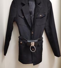 Sako jakna s pojasom novo