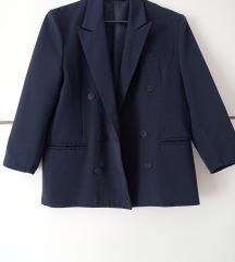 Ženski tamno plavi sako